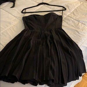 Mini black Rebecca Taylor dress